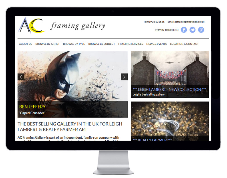 A C Framing Gallery Galleries